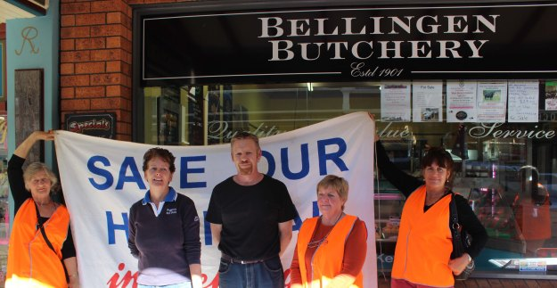 "Black Angus Heifer ""Roof-Fuss"" donated by Maida Bugg & prepared by  Kevin Aitken Bellingen Butchery raised $4,500"