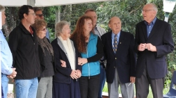 Dedication of the Carl Foster Memorial Gazebo